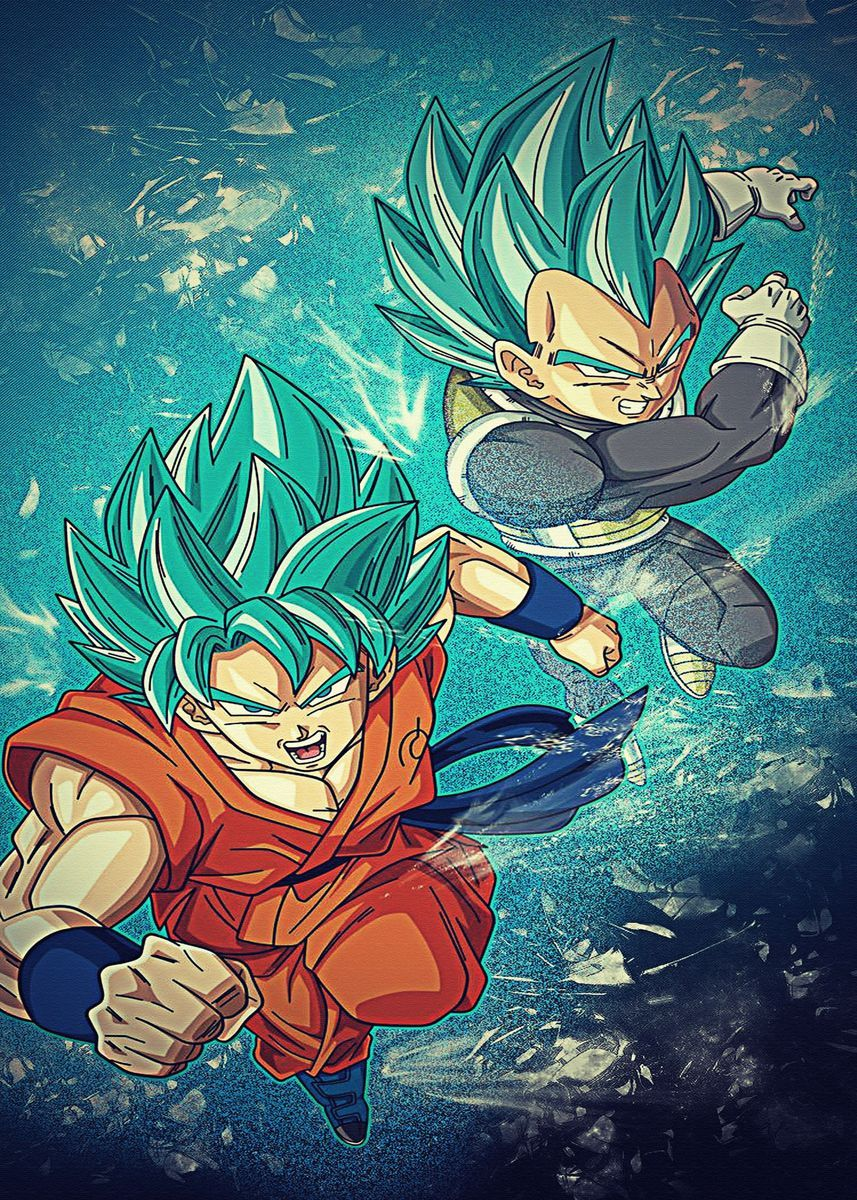 'Dragon Ball Z Super ' Poster by Matt Tress | Displate