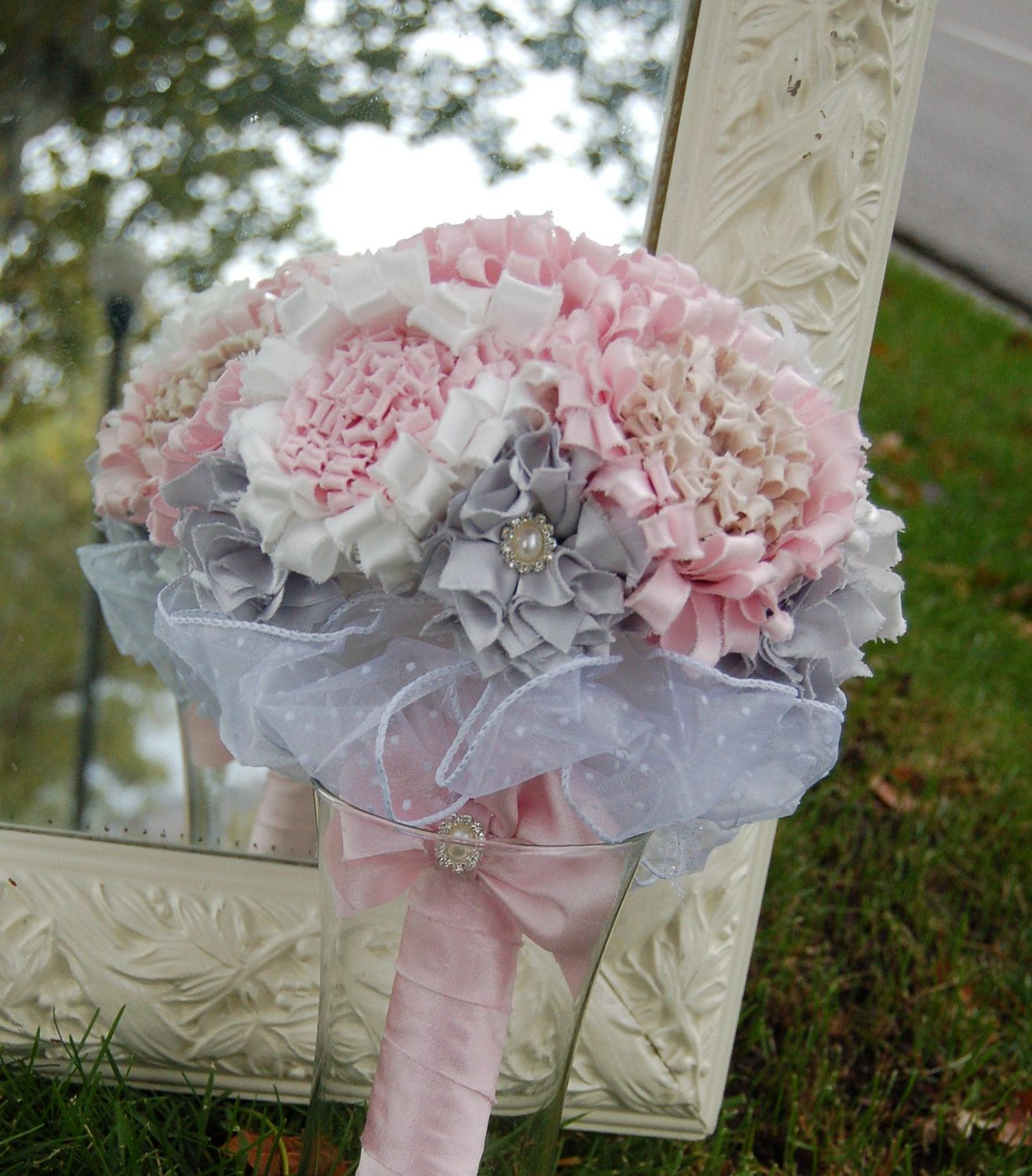 Image detail for -Fabric Flower Bouquet Tutorial Glorious by by ...