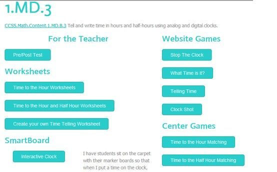 This website is for all First grade teachers... It has worksheets ...