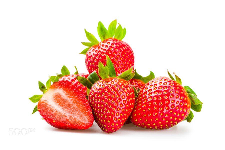 Pic Fresh Strawberries Isolated Fresh Strawberry Strawberry Fresh