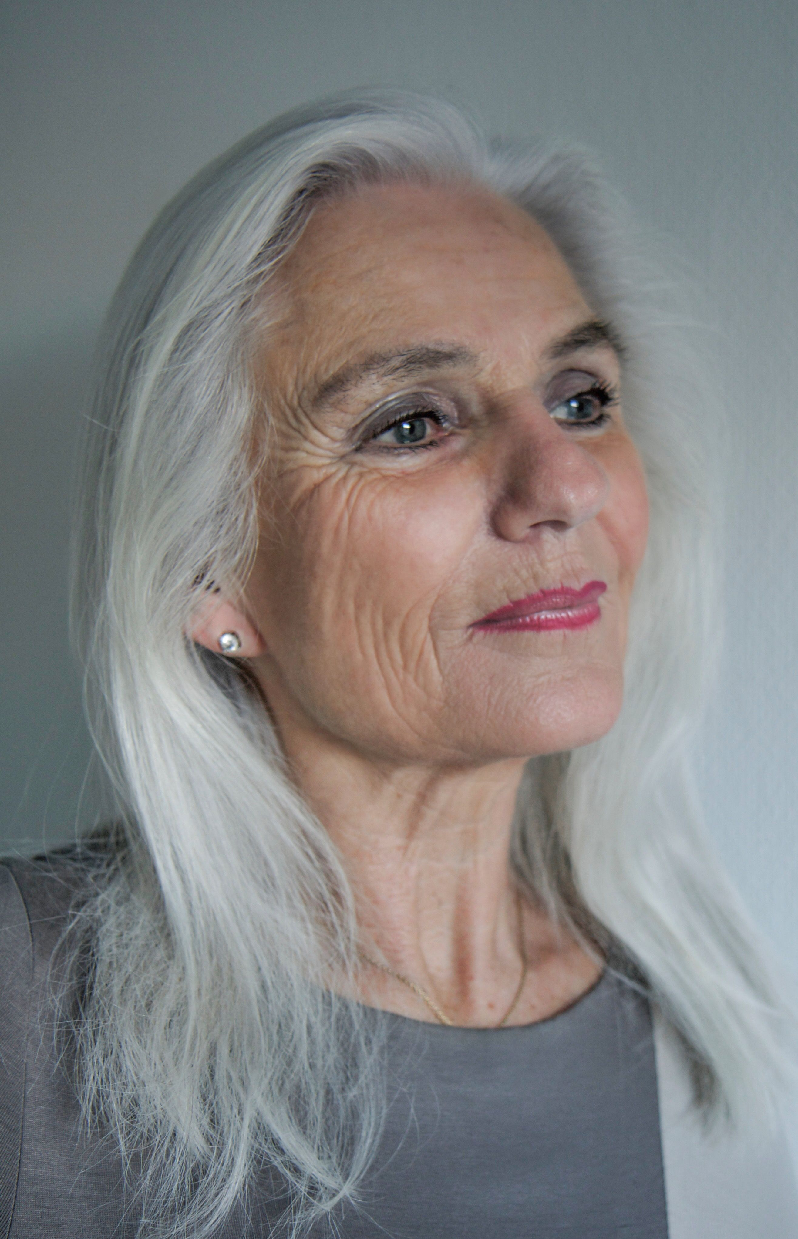 images of naked grey haired women