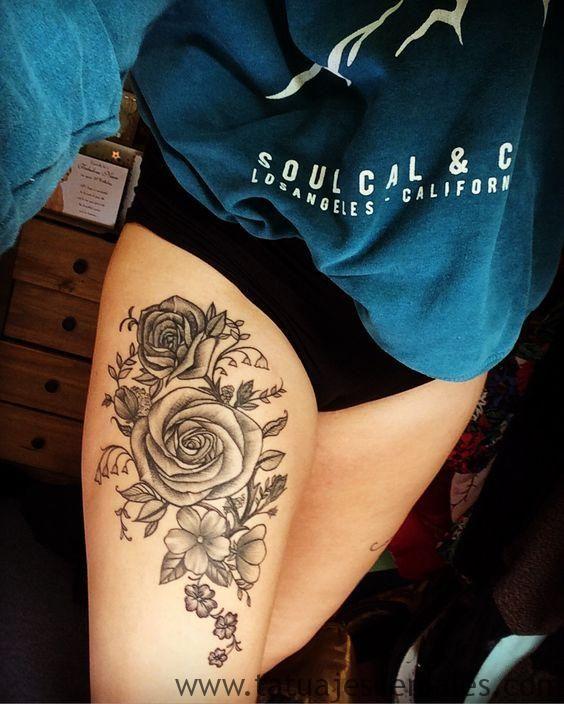 60 Especiales Tatuajes En La Pierna Y En El Muslo Tatuajes Pierna Tatuajes Muslo Tatuajes
