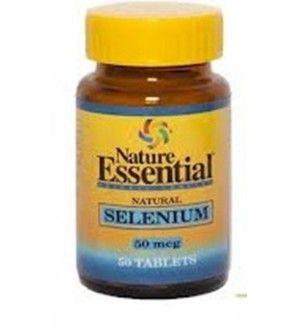 50 tabletas de Selenio 50mg  El selenio en un mineral presente en los alimentos ricos en proteínas y azufre, tales como carnes, pescados y cereales. Su presencia en el organismo, aunque en cantidades mínimas, es imprescindible para un correcto funcionamiento porque interviene en muchos procesos metabólicos