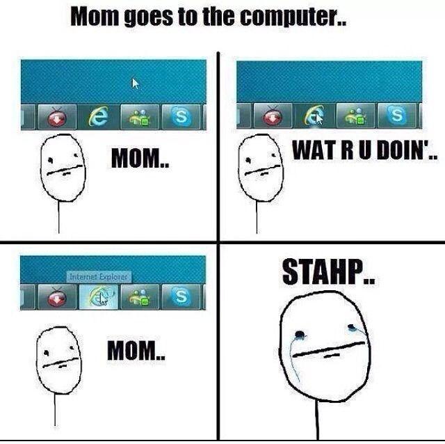 My mum did this