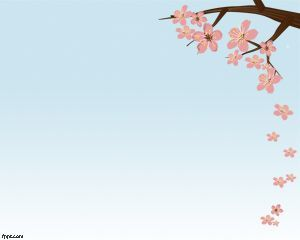 This Is Cherry Blossom Powerpoint Template A Free Background For