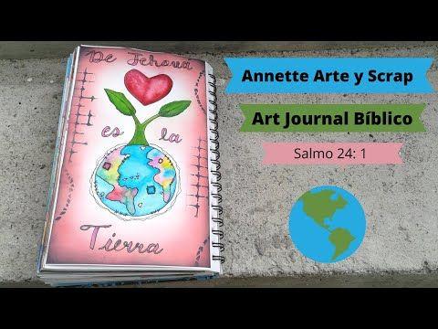 Art Journal Bíblico Salmo 24 1 Youtube Biblia De Apuntes Biblia Arte