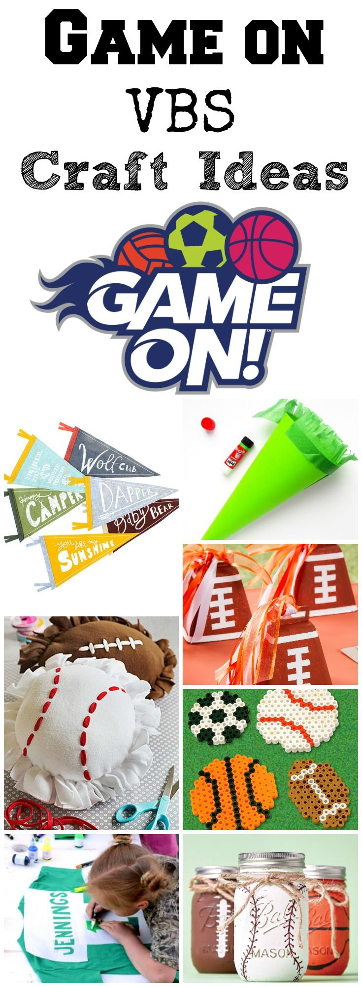 Sports Craft Ideas For Kids Game On Vbs Southern Made