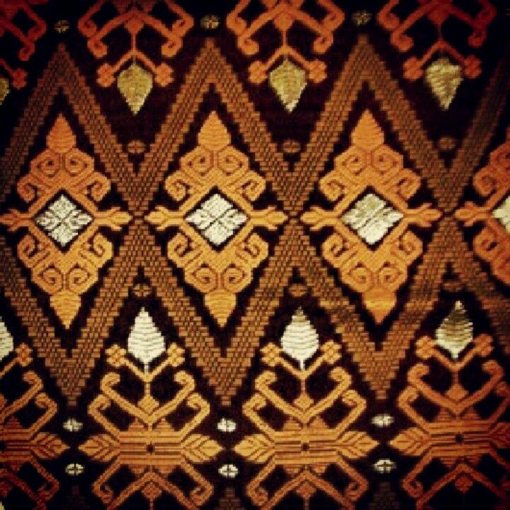 Batik Pattern, Balinese, Textiles