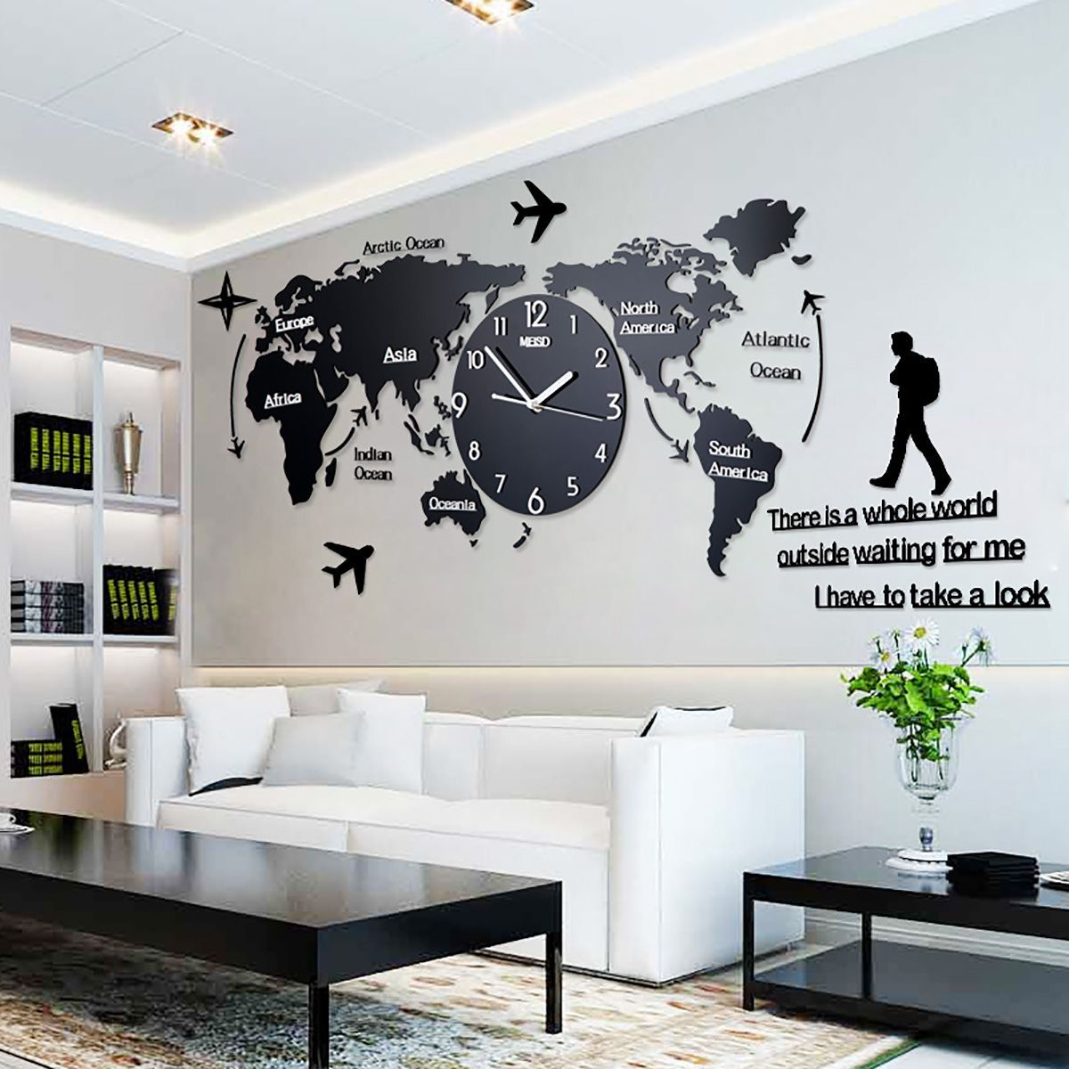 Here Is The Collection Of Best 9 Decorative Wall Clocks Idea You
