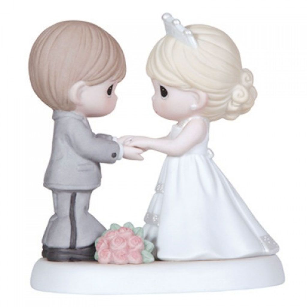 Precious Moments From This Day Forward Porcelain Wedding Figurine 123017 New