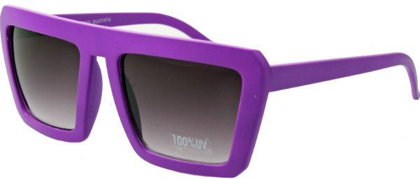Quay - It's Key - Square Large Frame G6 Wayfarer Sunglasses Devo Kreashawn