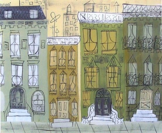 Miroslav Sasek City Artwork Illustration Art Art Design