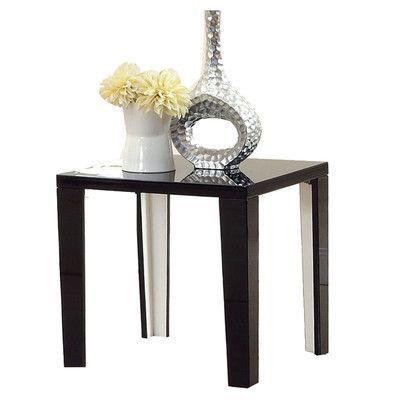 Hokku Designs Zedd End Table Finish: Black