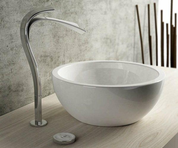 Runde Waschbecken im Badezimmer, die wirklich cool sind | Bad ...