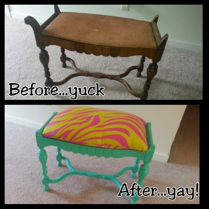 Found This Old Antique Bench At Salvation Army. They Were