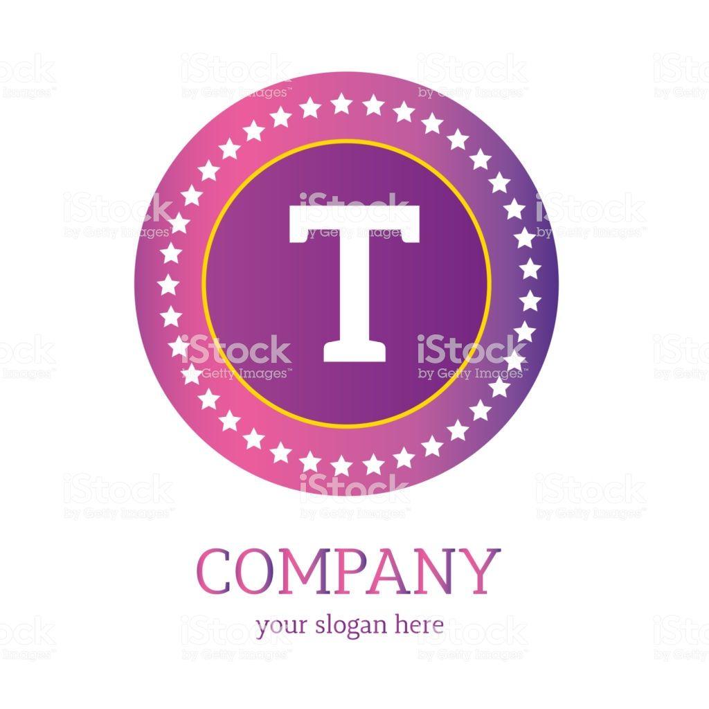 T letter logo design. T icon. colorful and modern logo design, T ...