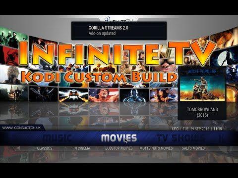 Infinite TV An Amazing & Complete Kodi Custom Build - YouTube | IPTV