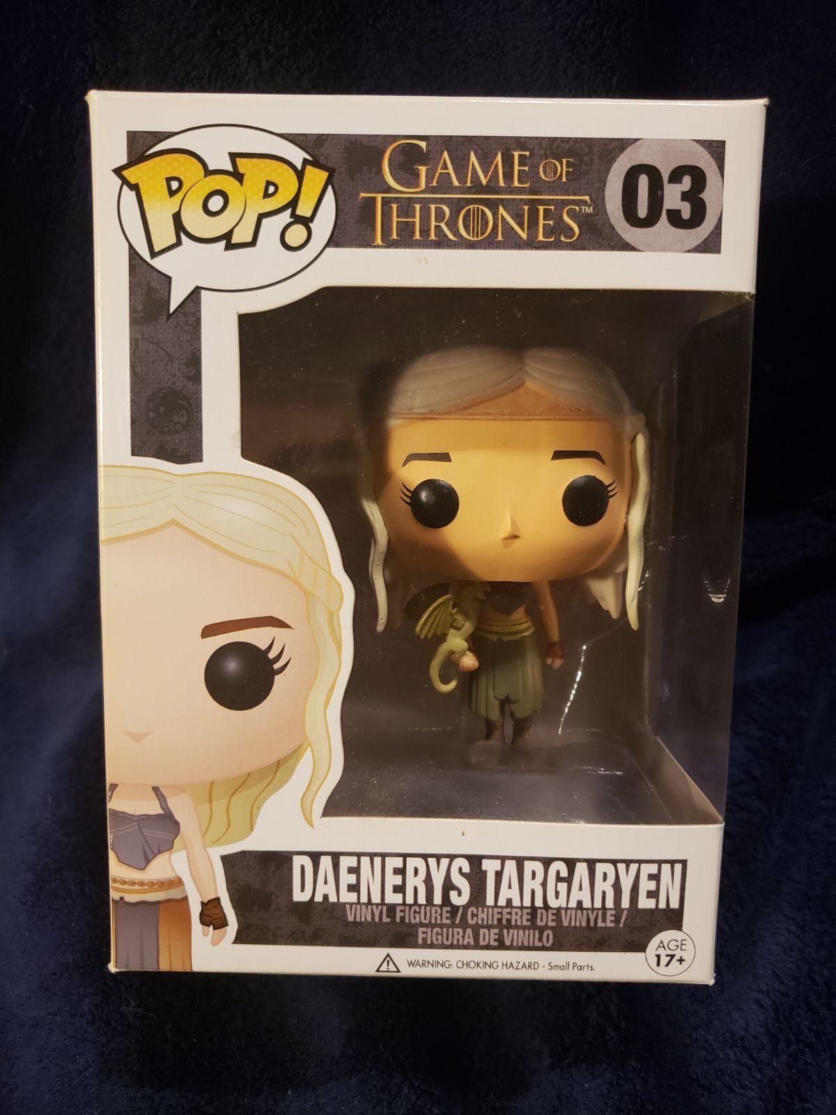 daenerys gold dragon