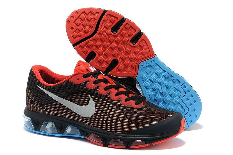 Nike Air Max Tailwind 6 Black Blue Red Men's Running Shoes