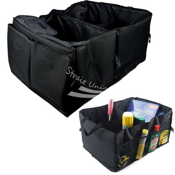 AutoCare Auto-kofferraum Transport Organizer Faltbare Tasche Lagerung Schwarz Folding im Kofferraum