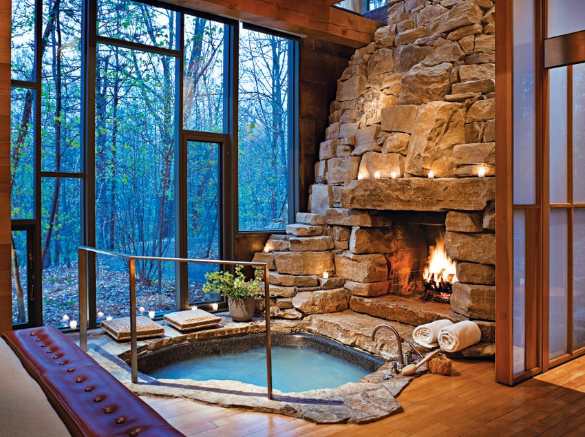 Escape Plan Five New England Spas Resorts To Check Out This Spring Indoor Hot Tub My Dream Home Dream House