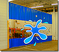 Industrial Curtains Akon Curtain And Dividers Plastic