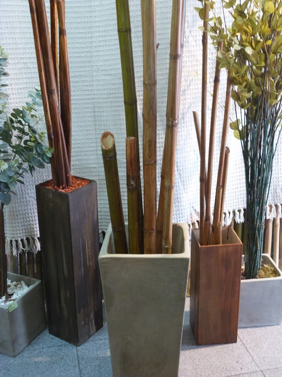 15 ideas para decorar con bamb bamb ideas para y ideas - Cana bambu decoracion ...