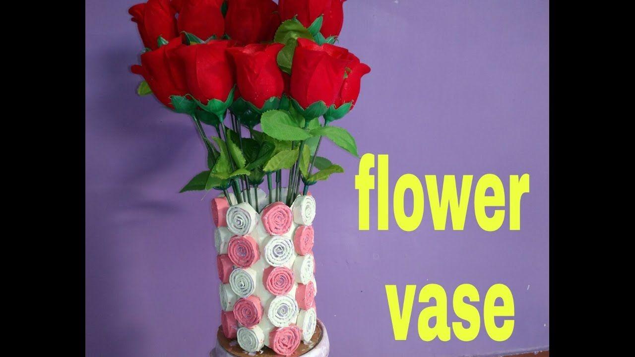 How To Make Flower Vase With Paper Grad 1 Pinterest Flower Vases