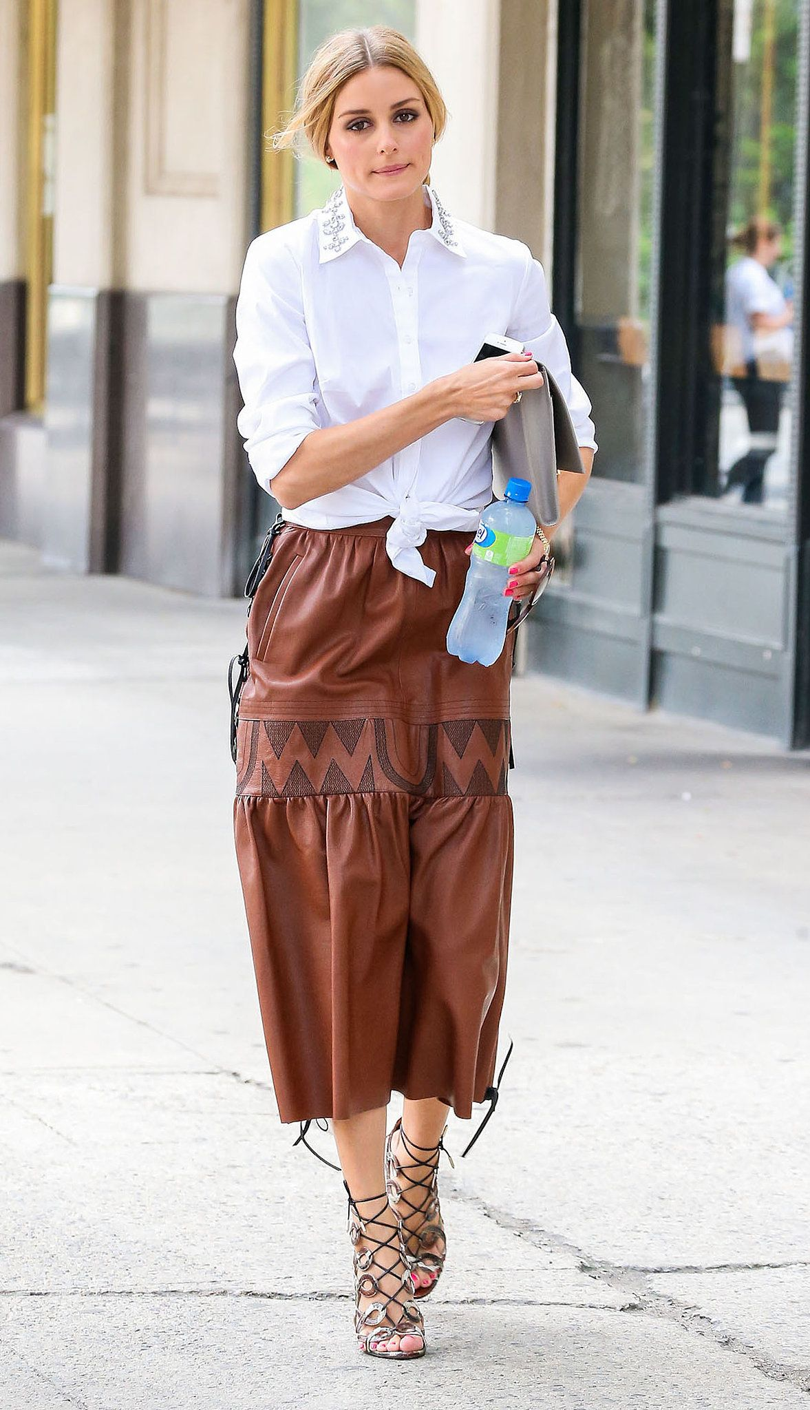 54 Times Olivia Palermo Made Us Hate Our Outfits | Metallic ...