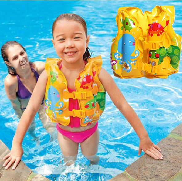 Baby Kid Toddler Inflatable Pool Beach Life Jacket Swim Safety Vest Swimming Aid Toddler Beach New Baby Products Baby Daddy Shirt
