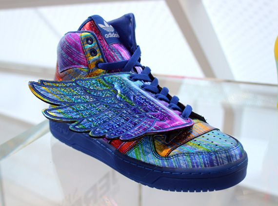 adidas Originals x Jeremy Scott Wings Rainbow Hologram  i need these  shoes omg