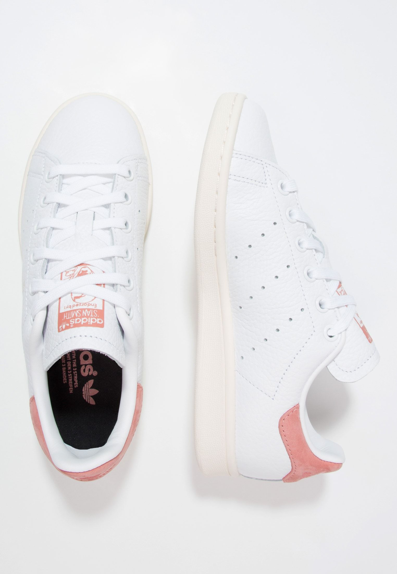 photos officielles 776f7 54185 STAN SMITH - Sneakers - footwear white/raw pink i 2019 | Det ...