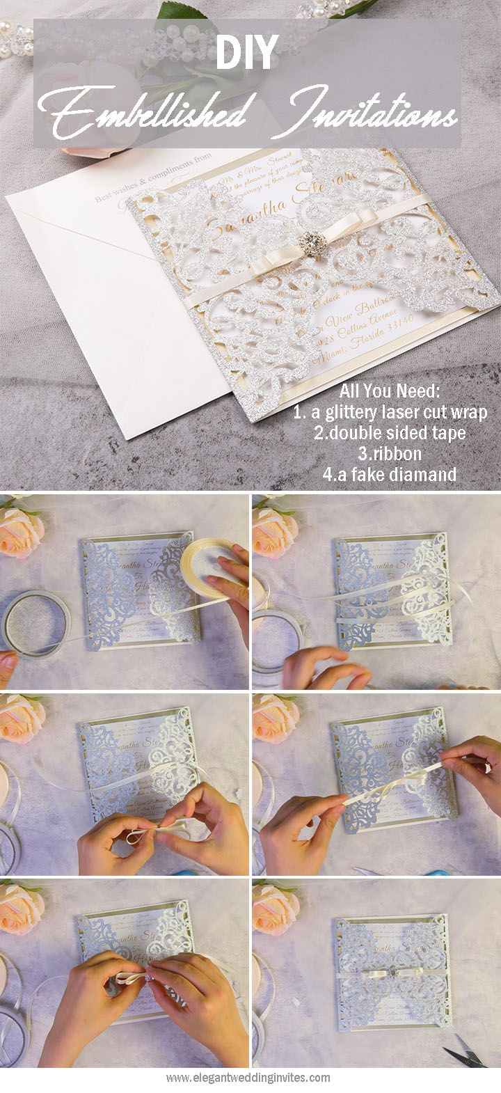 Useful DIY Ideas for Crafty Brides: Adding Shimmer to Your ...