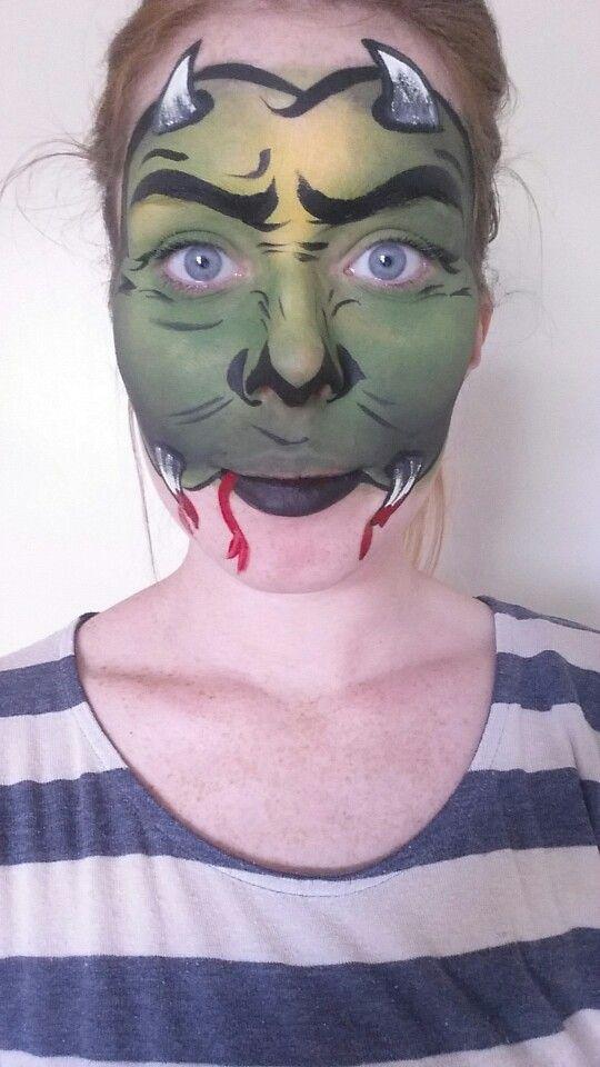Spider queen #spiderqueen #facepainting #spider #halloween #boo - halloween face paint ideas scary