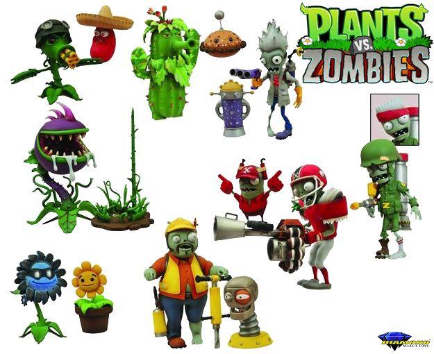 Bonecos Do Game Plants Vs Zombies Garden Warfare Select Plants Vs Zombies Warfare And Plants