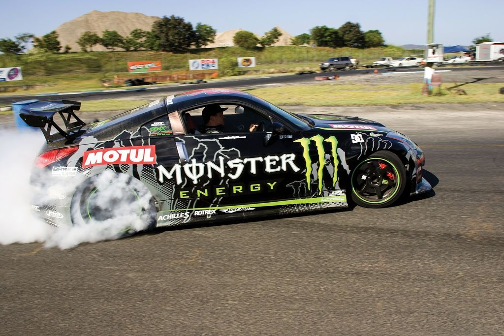 Monster Energy Drift Car Going To Do This One Day Live To