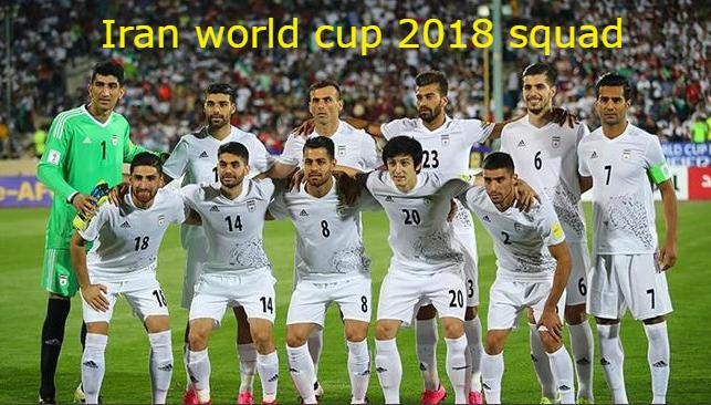 Iran Football Team Squad Fifa World Cup 2018 Russia Fifaworldcup Fifa2018 2018fifaworldcup Russiaworld World Cup 2018 Teams Iran Soccer Iran Football
