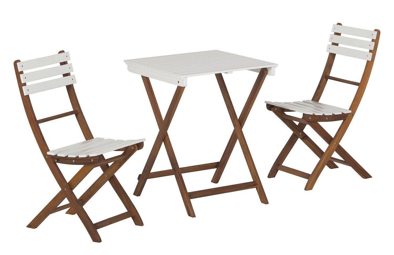 Balkon Set Akazie Massiv Holz Garten Tisch Klapptisch S