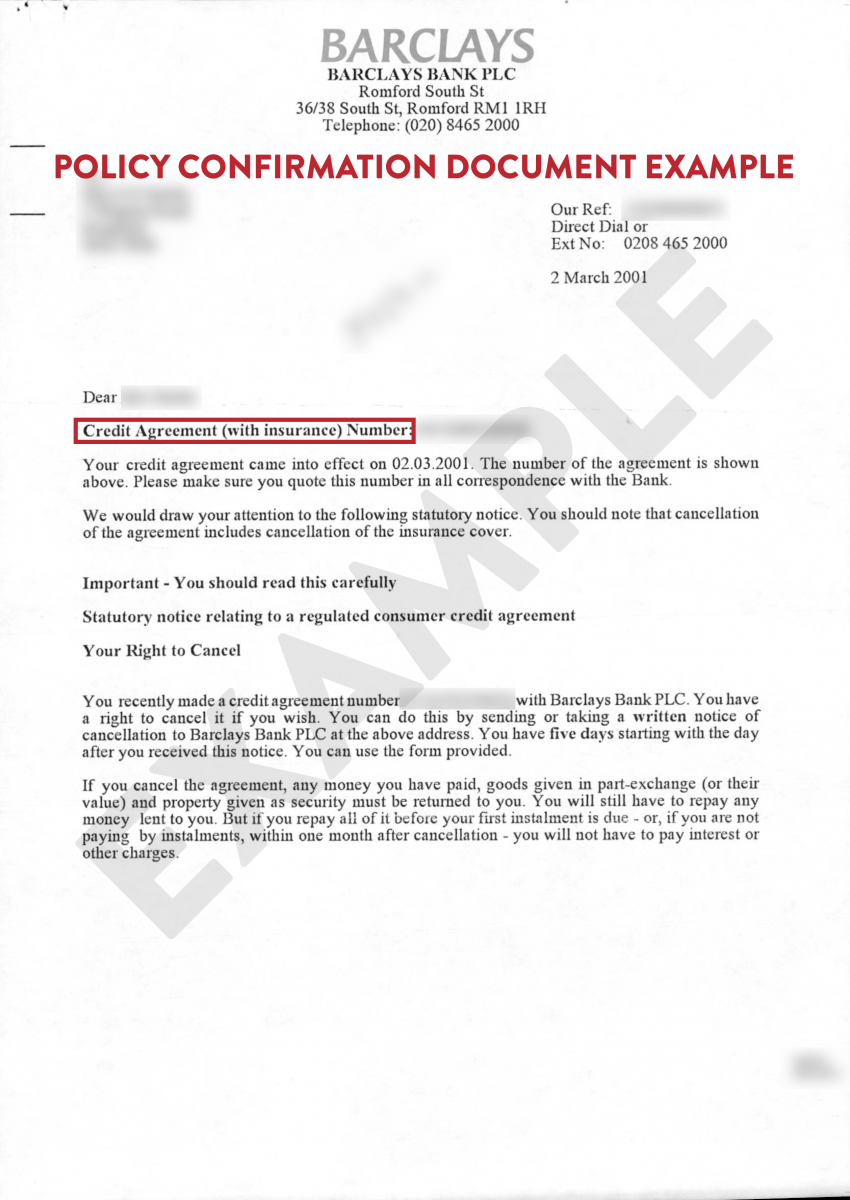 The Above Images Show End Year Mortgage Statement Policy Letter