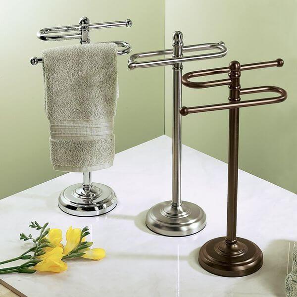 Hand Towel Rack Towels Bathroom, Bathroom Countertop Towel Stand