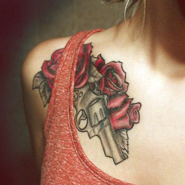 Pin On Chest Tattoos