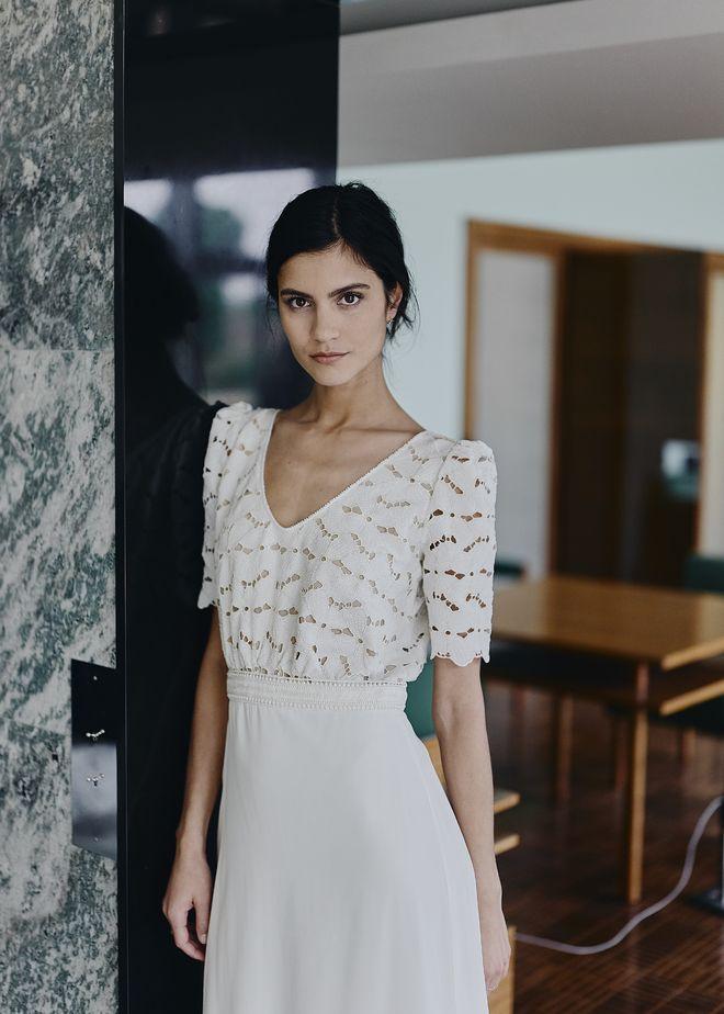 Hot news: la collection de robes de mariée Laure de Sagazan 2018 enfin  dévoilée