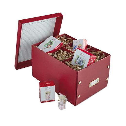 Milestones and Memories Ornament Storage Box Ornament storage box