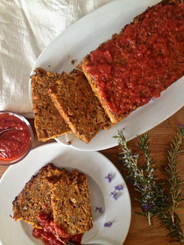 Alla prova del Cuoco: Arrosto con noci, funghi, lenticchie e formaggio