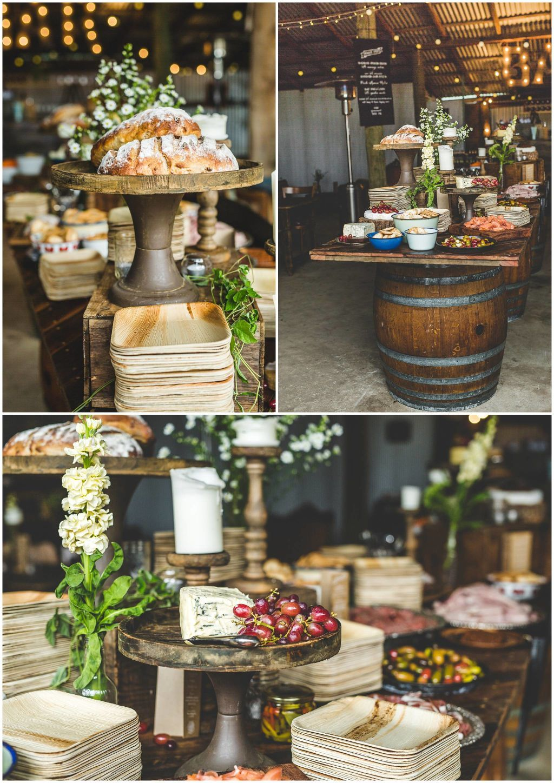 Surprise Wedding Hunter Valley Kate Grant 16 Wedding Food