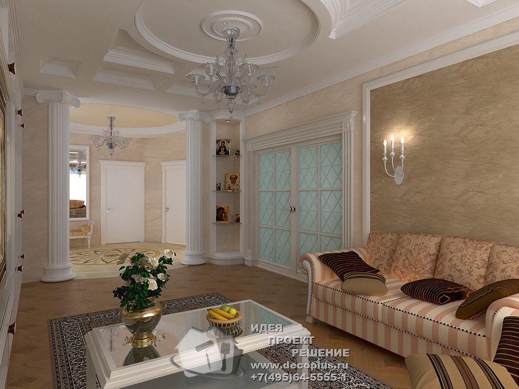 Фото интерьера гостиной