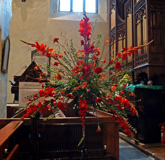 Wedding Altar Design Resource: Pentecôte, Deco Eglise