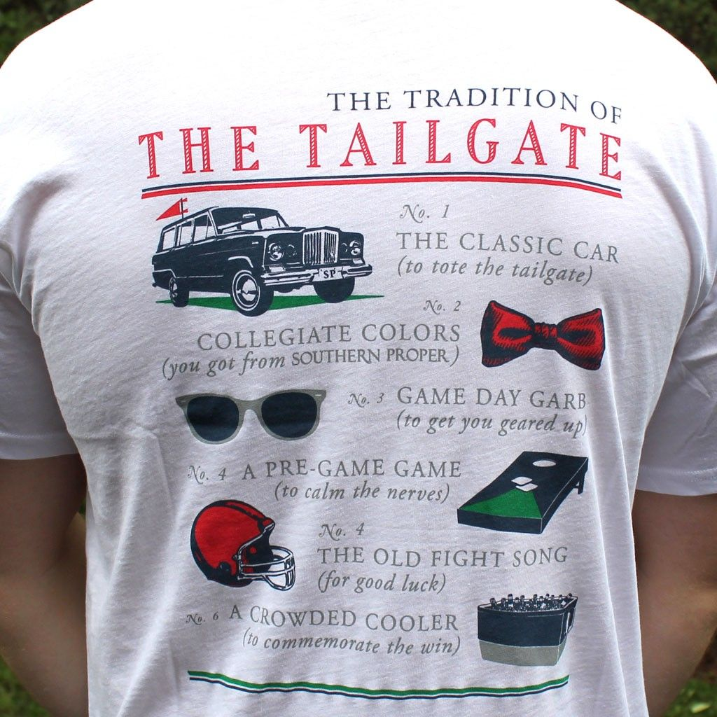 Tradition of the tailgate in white by southern proper the tradition of the tailgate in white by southern proper arubaitofo Image collections