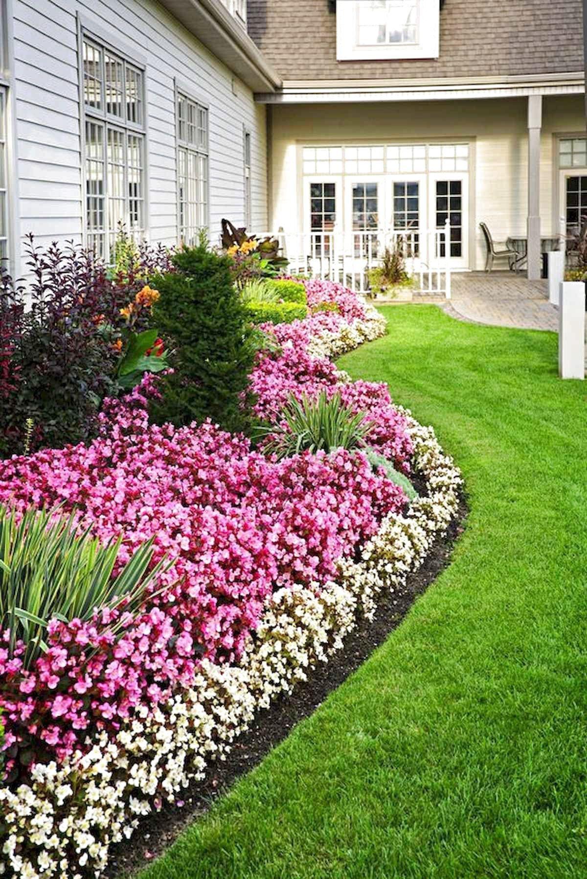 44 Beautiful Front Yard Garden Landscaping Design Ideas ... on Front Yard Renovation Ideas id=32408