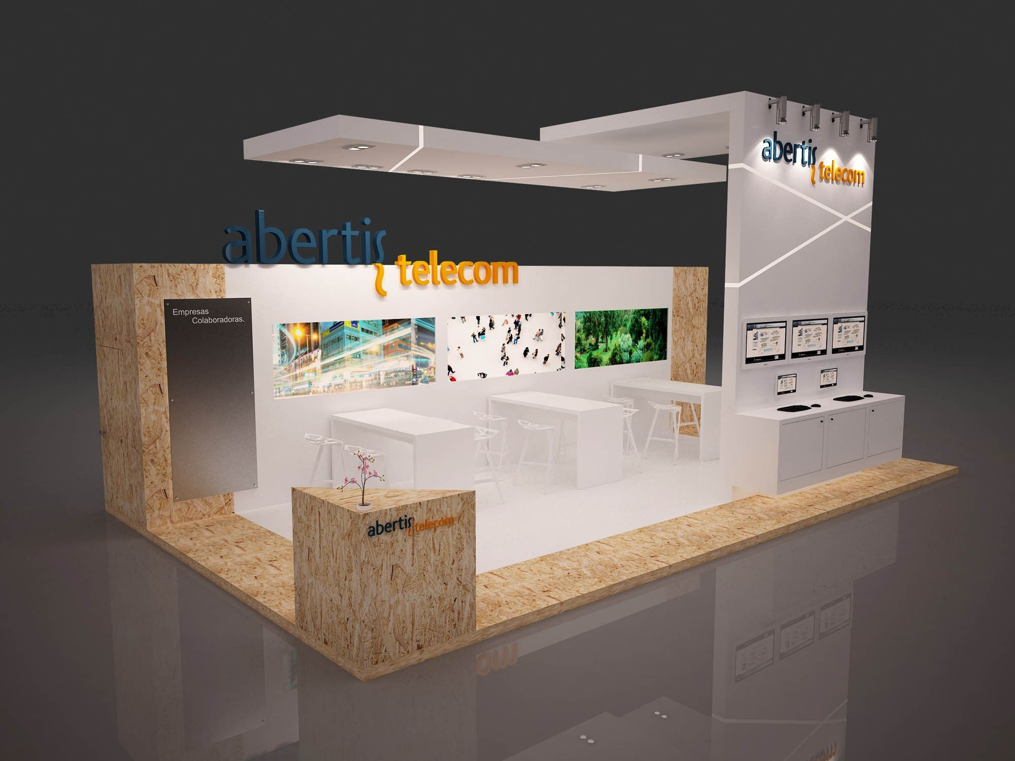 Exhibition Stand Tables : Hire rental services for exhibitions harry the hirer